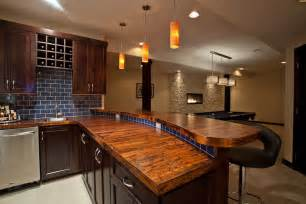 bar countertop ideas kitchen rustic with alder cabinets