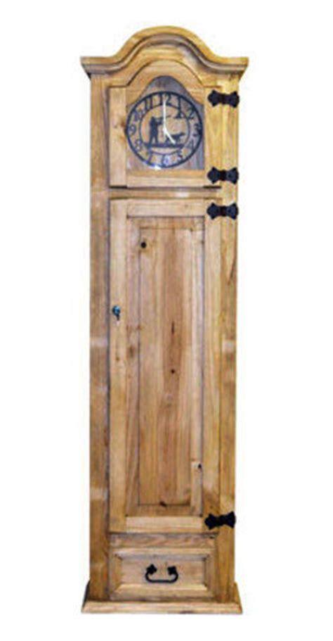 Grandfather Clock With Hidden Lockable Gun Cabinet Safe Grandfather Clock Gun Cabinet
