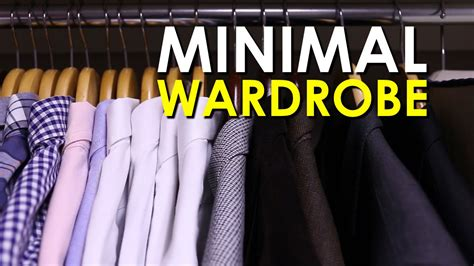 How To Build A Minimalist Wardrobe by Building A Minimal Wardrobe The Of Manliness