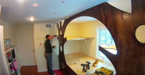 treehouse bedroom ideas creative ideas diy transform kid s bedroom into a treehouse