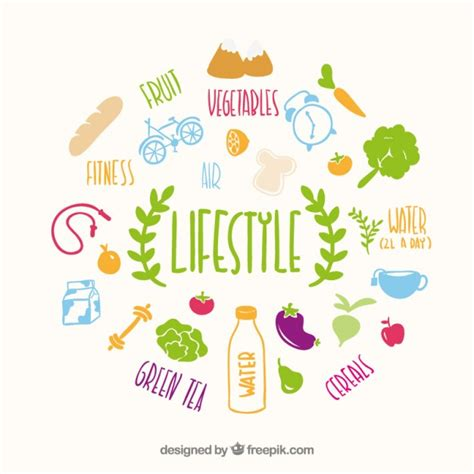 life style healthy lifestyle vectors photos and psd files free download