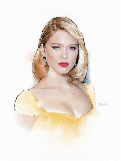lea seydoux dancing 120 best my illustrations images on pinterest