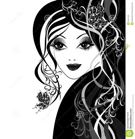 imagenes libres mujeres mujeres hermosas con las mariposas en pelo
