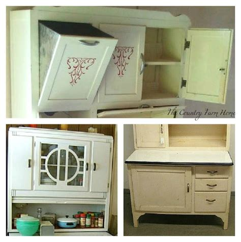 Old Farmhouse Kitchen Ideas The Country Farm Home I Ll Take A Hoosier Cabinet Please