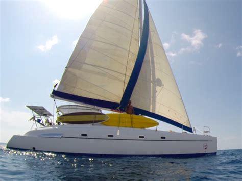 catamaran yacht phuket phuket catamaran charter bahia 46 zoe motor boat rentals