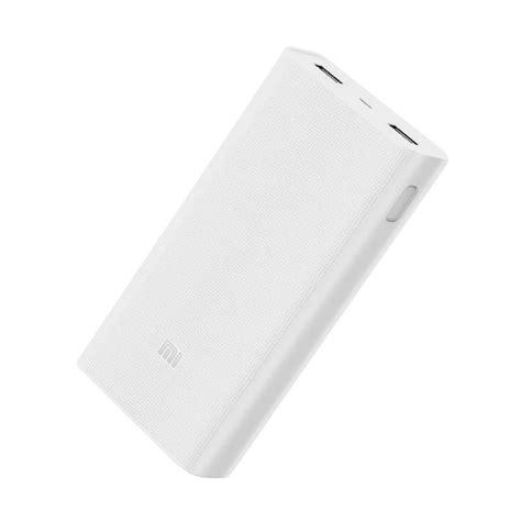 Jual Xiaomi Mi 2 Power Bank 20000 Mah Versi 2 Fast Charging Hls48 jual deals xiaomi mi 2 powerbank charge 3 0 20000 mah harga kualitas