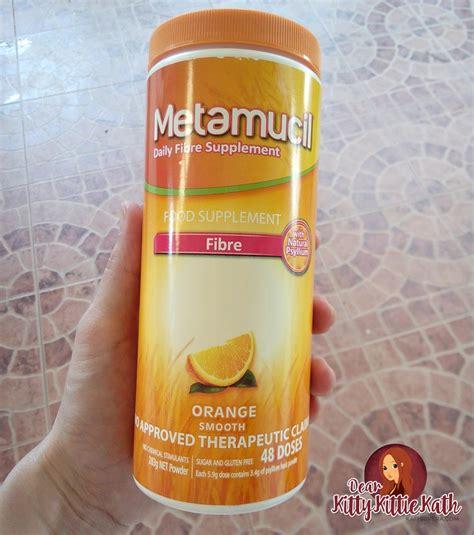 Stool Softener Metamucil by Product Review Metamucil Fiber Powder Dear Kittie
