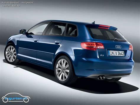 Audi A3 Sportback Abmessungen by Foto Bild Audi A3 Sportback Heckansicht Angurten De