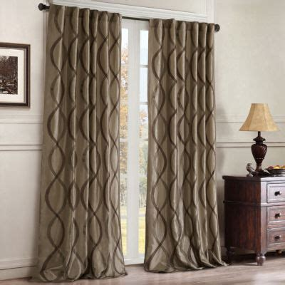 madison park marcel curtain panel serendipity rod pocket back tab curtain panel