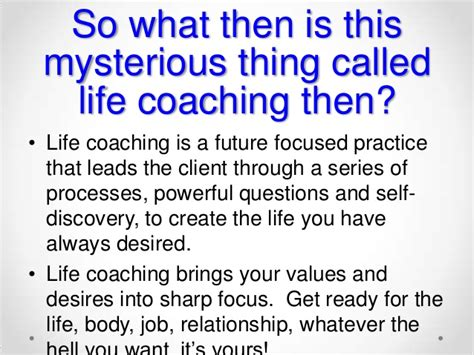 what is a life couch demystifying life coaching 1