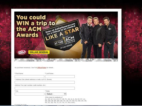 Country Music Sweepstakes - 2014 dr pepper academy of country music awards sweepstakes