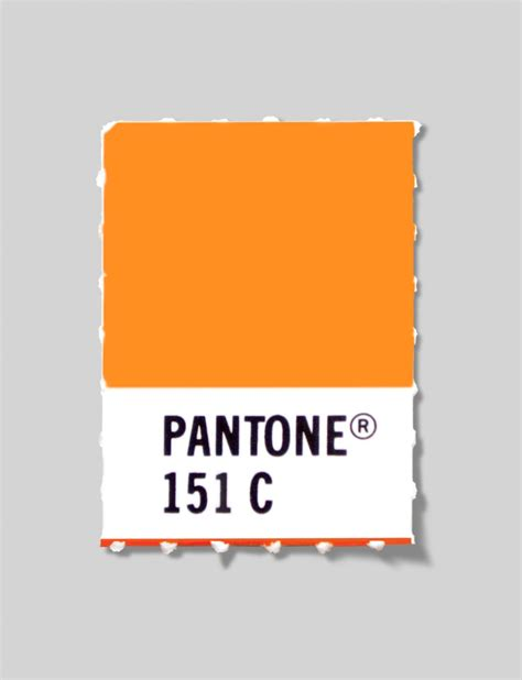 color of authority our logo color pantone 151 pantone inc is the authority