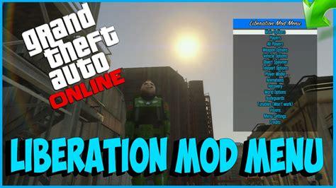 nuevo mod menu de gta v de pago youtube mod men 218 de pago gratis 161 161 liberation mod menu no