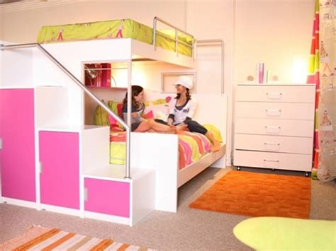 Cool Bunk Beds For Teenage Girls Bunk Beds With Swirly Really Cool Bunk Beds