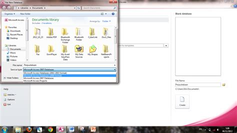 membuat database perpustakaan di xp praktikum 1 modul 1 konsep databae dan pengenalan access