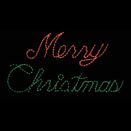 32 in outdoor led and green merry sign lighted display 300 bulbs walmart
