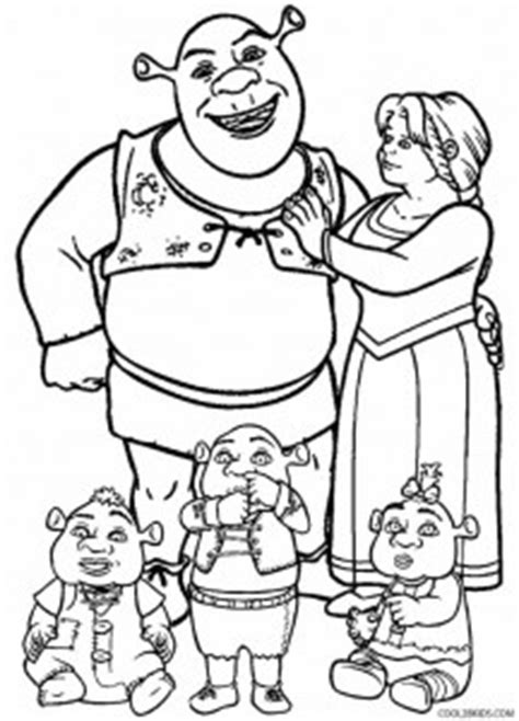 shrek gingerbread man coloring pages printable shrek coloring pages for kids cool2bkids