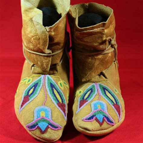 beaded moccasins antique american plateau beaded moccasins from