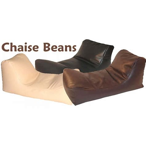 faux leather chaise chaise beanbag faux leather