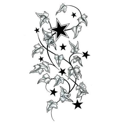 printable star tattoo designs star 45 9 95 tattoo designs gallery of unique