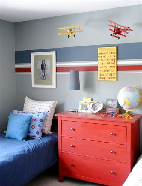 kinderzimmer farbgestaltung junge kinderzimmer f 252 r jungs farbige einrichtungsideen