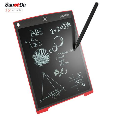 Writing Drawing Tablet Digital Lcd Board Pad 12 Inch Stylus Pen 12 inch lcd writing tablet for adults digital drawing tablet handwriting pads portable