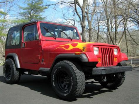 purchase used no reserve 1995 jeep wrangler sport utility