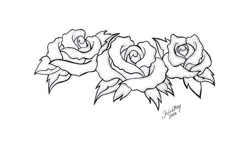 three black roses tattoo designs photo 1 real photo