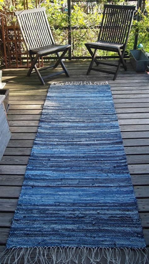 Diy Runner Rug Diy Denim Runner Rug