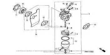 Honda Gcv160 Parts List Honda Engines Gcv160 A1a Engine Jpn Vin Gjae 1000001 To