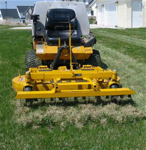 Landscape Rake For Rent Near Me How Do You Wen To De Thatch Your Lawn Green Bay Wi