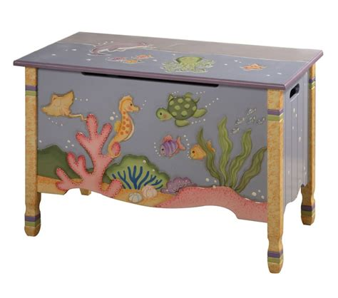 Under The Sea Furniture by Dreamfurniture Com Teamson Kids Under The Sea Toy Chest