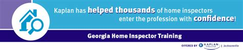 home inspection licensing