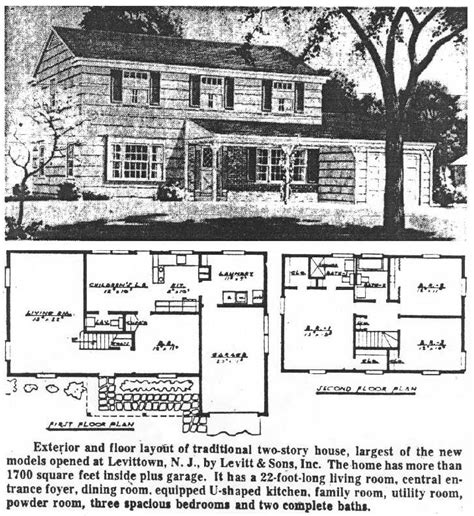 Levittown Floor Plans by Levittown New Jersey Houses Levittownbeyond Com
