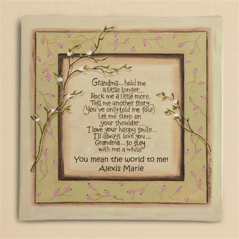 gardening by nanna let s ponder this idea books garden stones with sayings personalized 2013 grandparent