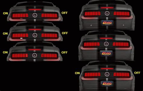 cervini shelby tail lights 2005 11 mustang cervini s tail l conversion group buy