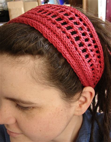 hair knitting patterns knit hair accessories free patterns grandmother s