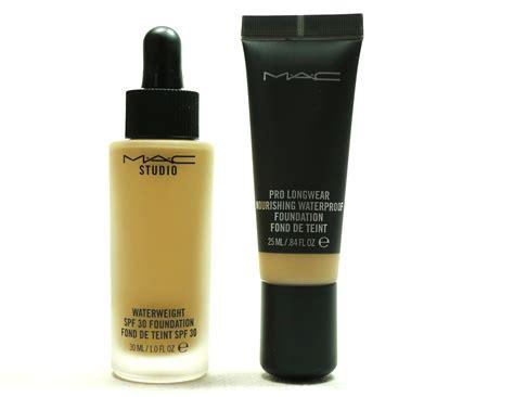 Mac Pro Longwear Foundation mac studio waterweight spf 30 foundation mac pro longwear