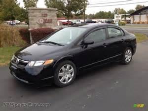 2008 Honda Civic Lx 2008 Honda Civic Lx Sedan In Nighthawk Black Pearl