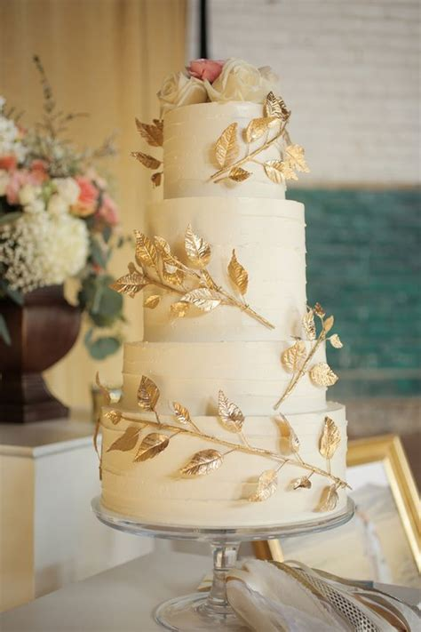Handcrafted Cakes - handcrafted wedding at trolley square wedding gold
