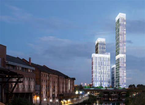 Tower Of London Floor Plan Manchester S Tallest Building Set For Green Light