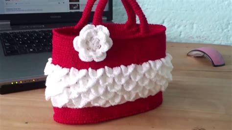 bolso para bebe tejida en crochet bolso tejido a crochet para ni 241 as youtube