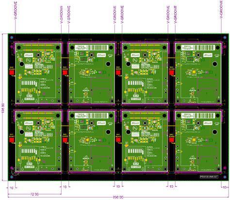 Cutting Board Designs panelization embedded board array enhancements online