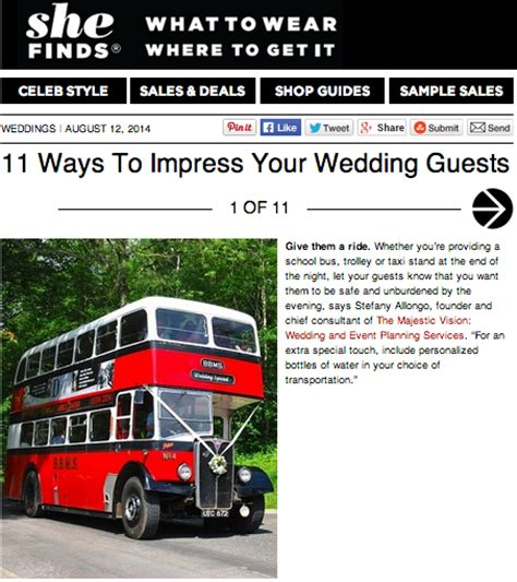 8 To Impress Your by Ways To Impress Your Wedding Guests The Majestic Vision