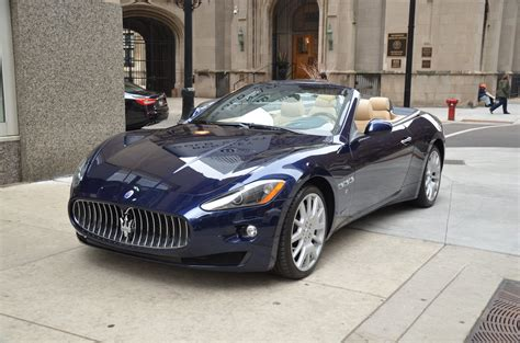 Used Maserati Convertible by 2012 Maserati Granturismo Convertible Stock M471a For