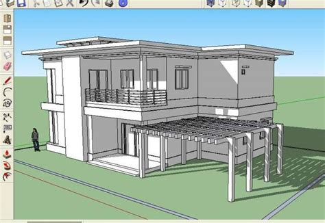 House Design Sketchup House In Sketchup Wip 2 By Karlowee On Deviantart