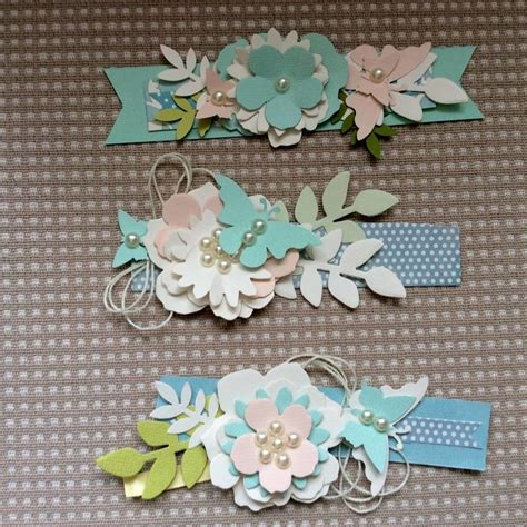 Handmade Embellishments For Scrapbooking - best 25 scrapbook embellishments ideas on