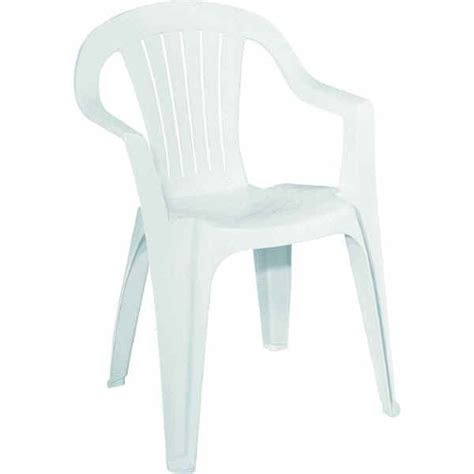 White Resin Chair by Chairs