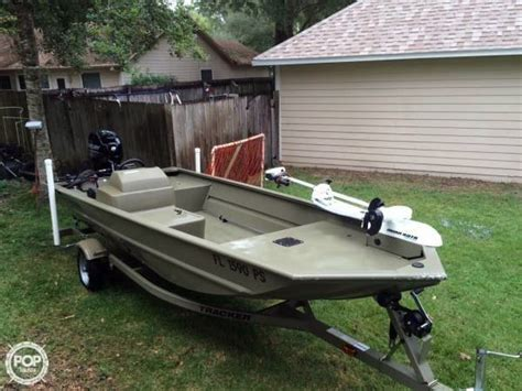 grizzly boats for sale in ohio 2014 used tracker grizzly 1648 sc skiff fishing boat for