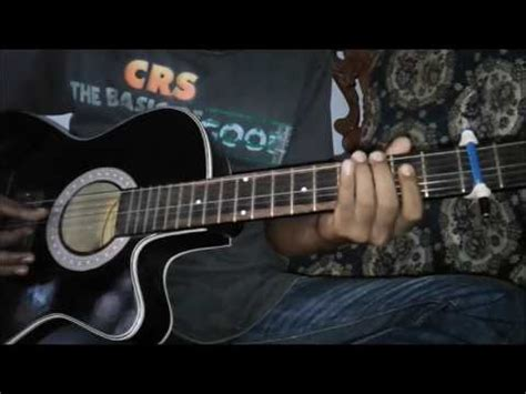 cara bermain fret gitar cara bermain gitar creed one last breath youtube